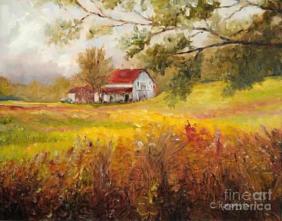 Morning Light Original by Cindy Roesinger