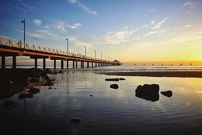 Photograph - Morning Light Down By The Pier by Keiran Lusk
