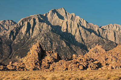 Photograph - Morning Light In The Alabama Hills by Stuart Gordon