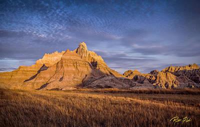 Photograph - Morning Light In The Badlands by Rikk Flohr