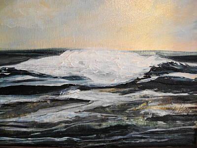 Linda King Painting - Morning Light by Linda King