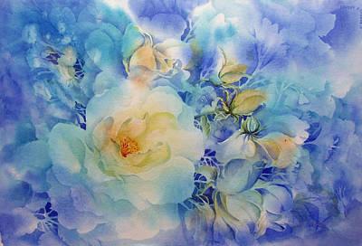 Morning-light Art Print by Nancy Newman