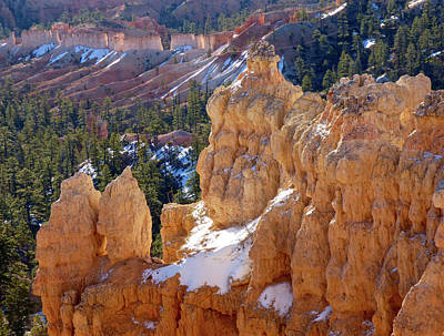 Photograph - Morning Light On Hoodoos by Amelia Racca