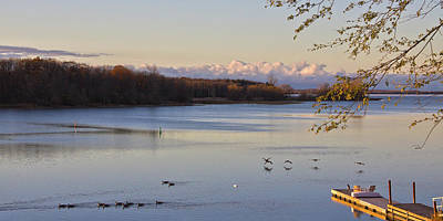 Photograph - Morning Light On Lake Ontario by Tatiana Travelways