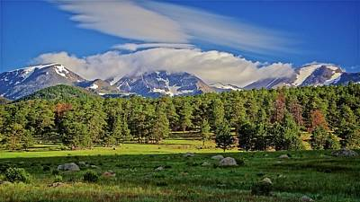 Photograph - Morning Light On Moraine Park, Rocky Mountain National Park by Flying Z Photography by Zayne Diamond