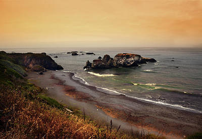 Photograph - Morning Light On The Pacific Ocean by Frank Wilson
