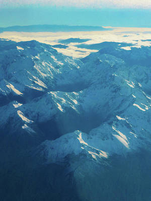 Photograph - Morning Light On The Southern Alps by Steve Taylor