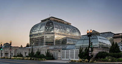 Photograph - Morning Light On The United States Botanic Garden by Greg Mimbs