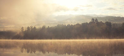 Vermont Wilderness Photograph - Morning Light Over The Mountains by Stephanie McDowell