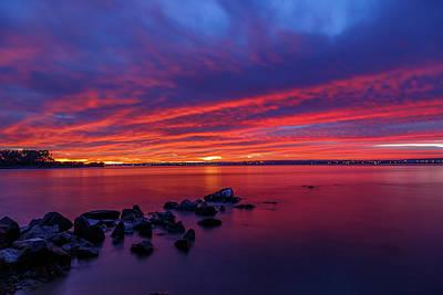 Photograph - Morning Light Show by Robert Caddy