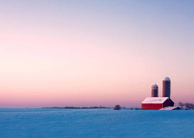 Winter Landscapes Photograph - Morning Light by Todd Klassy