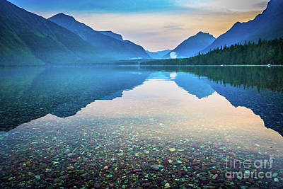 Reflective Surfaces Photograph - Morning Magic by Inge Johnsson