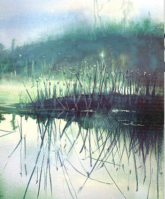 Painting - Morning Marsh by Gertrude Palmer