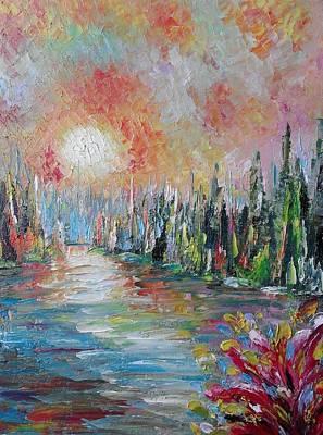 Painting - ''morning Melody'' by Asia Dzhibirova
