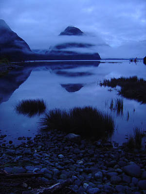 Photograph - Morning Milford Sound 2 by Werner Hammerstingl
