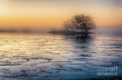 Photograph - Morning Mist And Frozen Tarn... by Mariusz Talarek