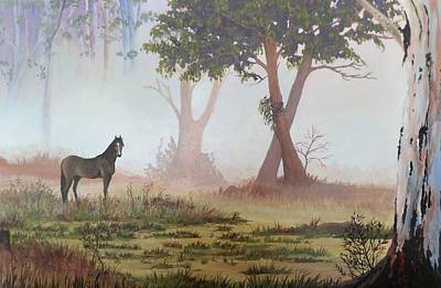 Painting - Morning Mist by Anne Gardner