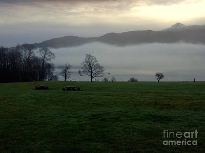 Photograph - Morning Mist At Loch Lomond 3 by Joan-Violet Stretch