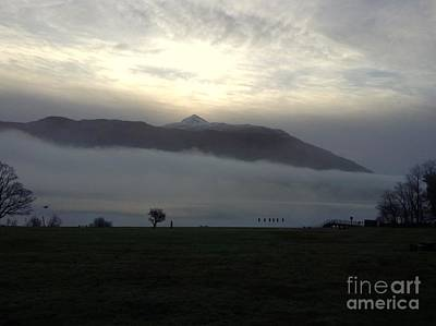 Photograph - Morning Mist At Loch Lomond 4 by Joan-Violet Stretch