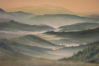 Painting - Morning Mist by Caroline Philp