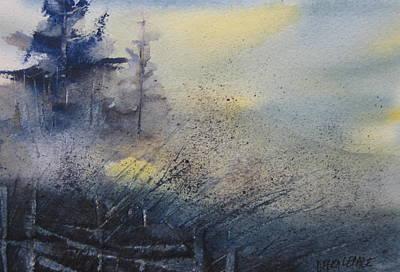 Morning Mist Art Print by Debra LePage