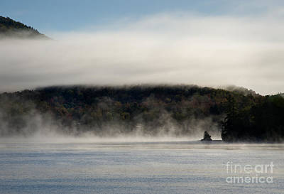 Photograph - Morning Mist by Fred Lassmann