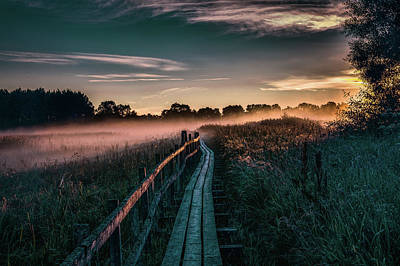 Photograph - Morning Mist #g6 by Leif Sohlman