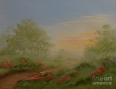 Painting - Morning Mist by Leea Baltes
