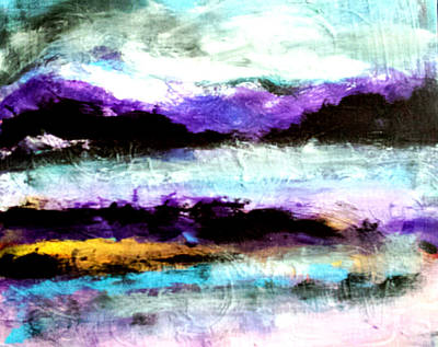 Painting - Morning Mist by Nikki Dalton