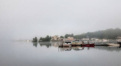 Photograph - Morning Mist On The Lake by Phyllis Taylor