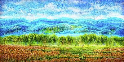 Digital Art - Morning Mist On Tiptoe by Joel Bruce Wallach