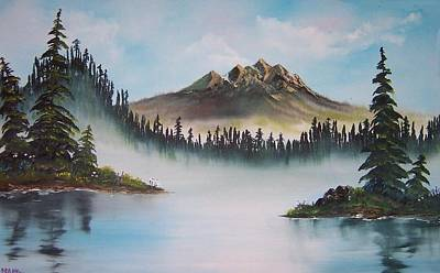 Painting - Morning Mist by Deahn      Benware