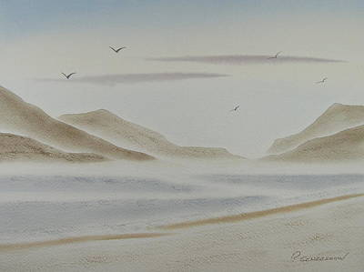 Painting - Morning Mist by Richard Schoessow