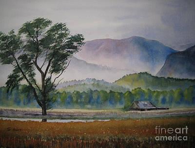 Morning Mist Art Print by Shirley Braithwaite Hunt