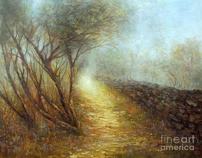 Painting - Morning Mist by Valerie Travers