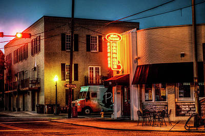 Photograph - Morning Moe's Bbq Mobile Alabama by Michael Thomas