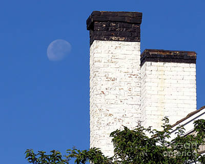 Photograph - Morning Moon by Janice Drew