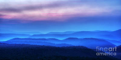 Photograph - Morning Moving Over The Hills by Thomas R Fletcher