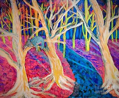 Digital Art - Morning Nap In The Woods by Anne Sands