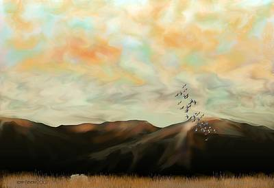 Digital Art - Morning New Mexico II by Kerry Beverly