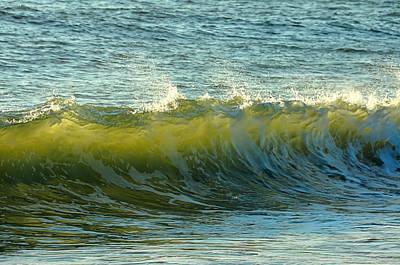 Photograph - Morning Ocean Break by JAMART Photography