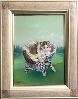 Cats Painting - Morning Of The Beginning by Hiroyuki Suzuki