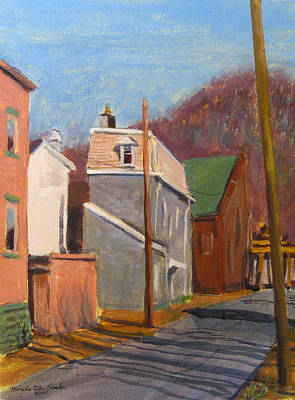 Painting - Morning On 50th Street by Martha Ressler