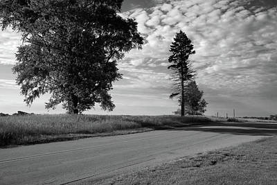 Photograph - Morning On A Country Road by Scott Kingery