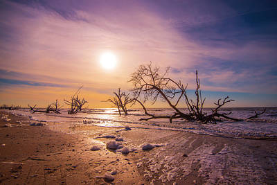 Photograph - Morning On Boneyard Beach by Steven Ainsworth