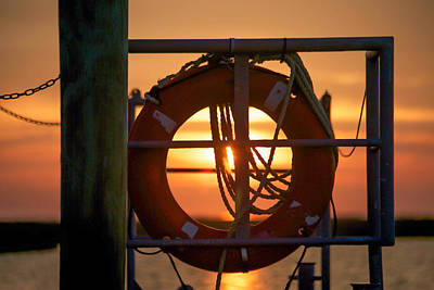 Catch Of The Day - Morning On Deck  by Paula OMalley