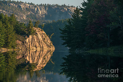 Photograph - Morning On George Lake - Killarney Ontario by Matt Trimble