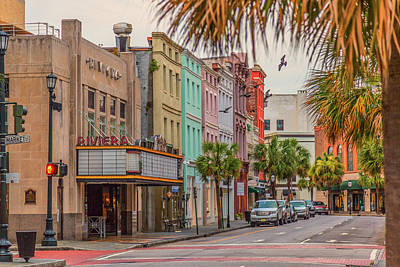 Photograph - Morning On King - Charleston Sc by Donnie Whitaker