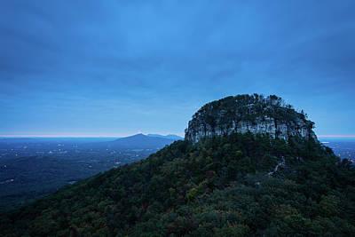 Photograph - Morning On Pilot Mountain  by Michael Scott