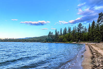 Photograph - Morning On Priest Lake by Robert Bales